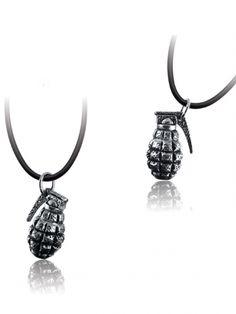 """""""War"""" Pendant by Ecks Jewelry (Silver) #InkedShop #InkedMag #War #Pendant #Silver"""