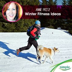 Getting too chilly for your favorite workout? Get some winter fitness motivation from Simple ambassador @La Farme / Anne Linval.