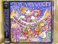 CD/Japan- STEVE WINWOOD About Time +1 bonus trk w/OBI RARE 2003 SICP-414 Traffic #PopRock