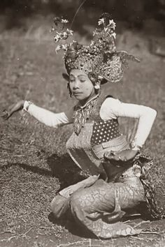 Indonesia, Bali ~ Legong Dancer ~ Bali ~ Indonesia ~ 1920s