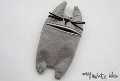 CAT PENCIL CASE DIY (Republished) | MY WHITE IDEA DIY