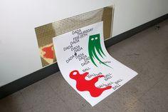 "chrlnwhs: "" Biba Kosmerl - poster """
