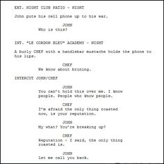 screenplay indents screenplay format pinterest