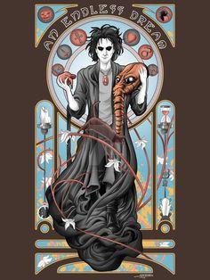 An Endless Dream - Neil Gaiman's Sandman Neil Gaiman, Comic Books Art, Comic Art, Morpheus Sandman, Comic Character, Character Design, Death Sandman, Vertigo Comics, Steampunk