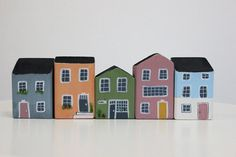 Decorative wooden cottage by MelancoliaShop on Etsy