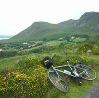 bike the countryside of Ireland