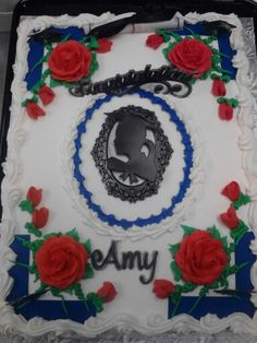 Amy's graduation cake