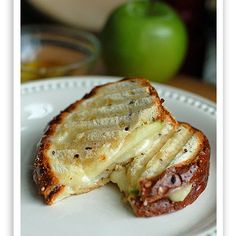 Turkey Brie Apple Panini