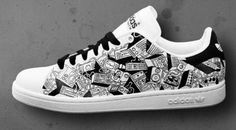 Retro To Go: Design your own Adidas Stan Smith trainers Customised €400