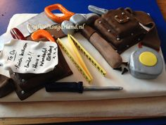 For the D.I.Y enthusiast in your life...our tool belt cake!