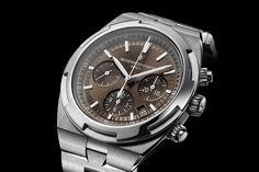 Introducing – Vacheron Constantin Overseas 4500V & Chronograph 5500V now with brown dials (inc. price)