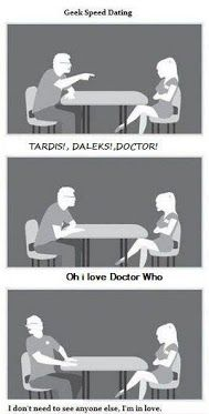 Geek speed dating...