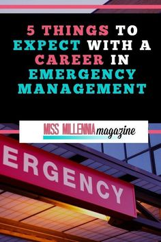 5 Things to Expect With a Career In Emergency Management Healthcare Jobs, Medical Careers, Faith In God Quotes, Quotes About God, Emergency Management, Time Management Tips, Career Success, New Career, Career Quotes