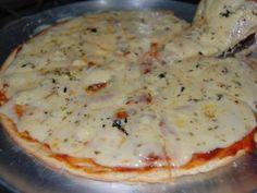 Receita de Pizza de Liquidificador Fácil - Tudo Gostoso