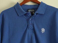 South Pole Blue Polo Shirt Mens Size XL Short Sleeve Solid 100% Cotton  #Shopping #Style #Fashion http://www.ebay.com/itm/-/281374929981?roken=cUgayN via @eBay
