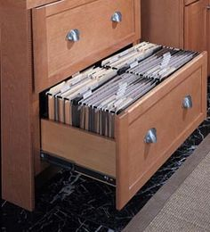 Make your kitchen cabinet designs and remodeling ideas a reality with the most recognized brand of kitchen and bathroom cabinetry - KraftMaid. Home Office Storage, Home Office Design, Home Office Furniture, Kitchen Furniture, Plywood Furniture, Office Built Ins, Kitchen Desks, Kitchen Office, Kitchen Pantry