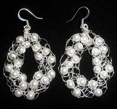 crocheted wire and bead jewelry   Crocheted Wire and ... by Jayne Price   Jewelry Pattern