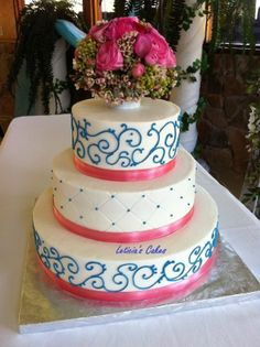 pink and blue wedding theme | Tag Archive: pink and blue wedding cake