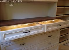 Lit drawers, anyone? www.homecontrols.com