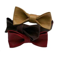 Leather Bowtie  Various Colours Available  Add by Leatherisfashion, $289.00