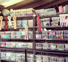 Craft Studio Organization | Craft Organization! | Flickr - Photo Sharing! Z