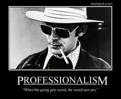 professionalism books to read my books hunter s thompson quotes writers journalism