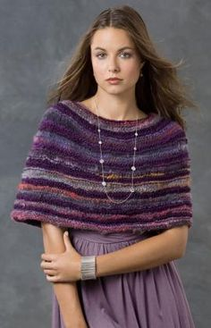 So Cozy Warmer Knitting Pattern Knitted Capelet, Poncho Au Crochet, Knit Cowl, Knit Or Crochet, Capelet Knitting Pattern, Knitted Cape Pattern, Shawl Patterns, Knitting Patterns Free, Free Knitting