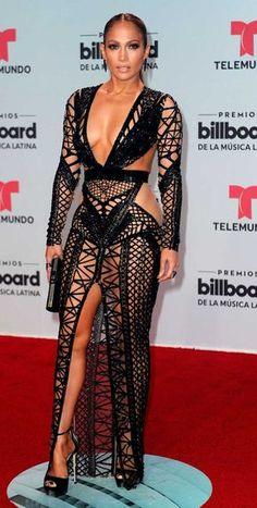Jennifer Lopez Billboard Latin Music Awards 2017 Deslumbra con Vestidos - IEVENN