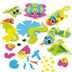 3D Foam Creature Craft Kit for Kids