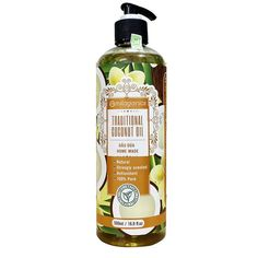 Milaganics Traditional Coconut Oil Homemade Natural 500 ML