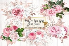 Blue And Silver, Pink And Gold, Blush Pink, Rose Gold, Pink White, Purple, Planner Stickers, Glitter Roses, Silver Glitter
