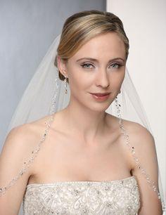 top 20 beaded wedding veil