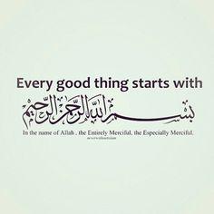 Bismillah ir-Rahman ir-Rahim (In the name of Allah, the Most Merciful & Kind) As'salaam. Hadith Islam, Allah Islam, Islam Quran, Alhamdulillah, Beautiful Prayers, Beautiful Islamic Quotes, Islamic Inspirational Quotes, Allah Quotes, Muslim Quotes