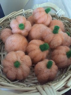 A personal favorite from my Etsy shop https://www.etsy.com/listing/250956412/needle-felted-pumpkins