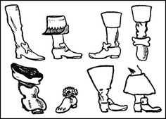 King Charles The First Costume - Cavalier Boots, Charles The First, Man Of La Mancha, Fashion Painting, All The Way Down, King Charles, Fashion Plates, Fashion History, Theater
