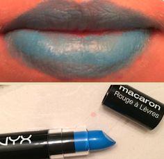 Nyx Macaron Lippie in Blue Velvet.