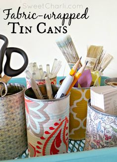 This post contains an affiliate link. Hello friends!  If you are has upcycle crazy as I am, then I have a killer roundup for you: 53 Tin Can Crafts.  Each of these tin can crafts is wonderful creat…