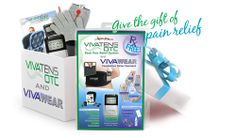 Give the Gift of Pain Relief to your loved ones. Viva Wear comes with a Non Prescription TENS and a conductive glove, sock or sleeve. Great for extremity pain, and increasing circulations. www.medi-stim.com