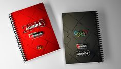 Agenda 2016 - Oficina do Estudante Office Supplies, Notebook, Design, Student, Offices, Day Planners, The Notebook, Exercise Book