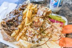 Bab Tuma is a borough in the Old City of Damascus in Syria, and the name of this halal restaurant serving chicken fried, grilled, and in shawarma form. Fried Chicken Coating, Crispy Chicken, Chicken Skin, Eastern Cuisine, Chicken Sandwich, Cheap Meals, Toronto, Ethnic Recipes