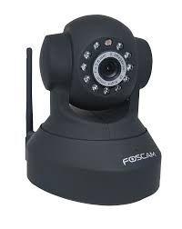 Camera Ip IoT de dupla função
