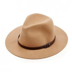 Women's Camel Wool Panama Hat by Sole Society
