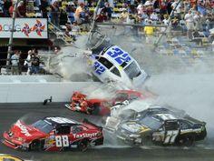HUGE Daytona Car Crash! (Video)
