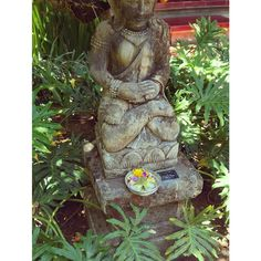 Holy statue at the hotel, Bali, Indonesia