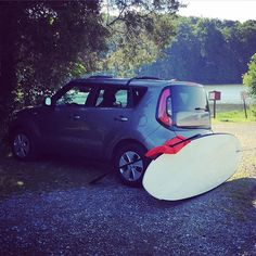 """Paddle before work. @kiamotorsusa #kiasoul #kia #soul #carsofinstagram #instacars #koreancars #cars #sup #standuppaddleboard #paddleboard #paddle #life #sun #water #bluesky #watersports #lake #pinchot #pennsylvania #active #fitness #exercise"" Photo taken by @crouse85 on Instagram, pinned via the InstaPin iOS App! http://www.instapinapp.com (08/12/2015)"