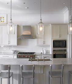 Six stylish lantern pendants that wont break the bank pinterest 53 kitchen lighting ideas mozeypictures Image collections