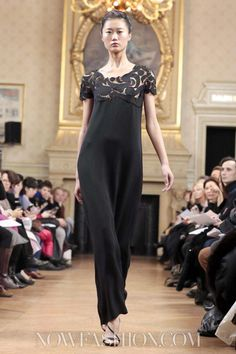 I-line. Maurizio Galante Couture Spring Summer 2013 Paris.