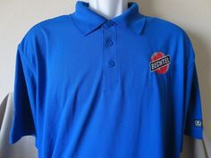 Rare BECHTEL Polo Shirt Boy Scouts Golf Blue OGIO Construction Brand New Size XL #Ogio #Bechtel www.guppy64.com