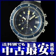 オメガ『シーマスター ビッグブルー』176.004 メンズ SS/SS 自動巻き 6ヶ月保証【高画質】【中古】b03w/12s/h02 BC【楽天市場】