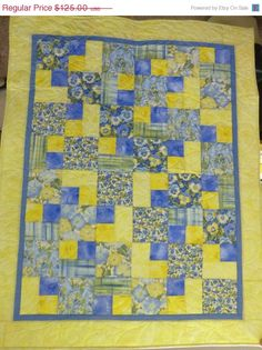 Hey, I found this really awesome Etsy listing at https://www.etsy.com/listing/191514257/summer-sale-lap-quilt-patchwork-quilt